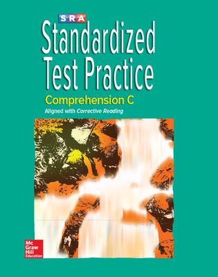 Corrective Reading Comprehension Level C, Standardized Test Practice Blackline Master