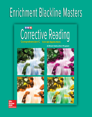 Corrective Reading Comprehension Level C, Enrichment Blackline Master
