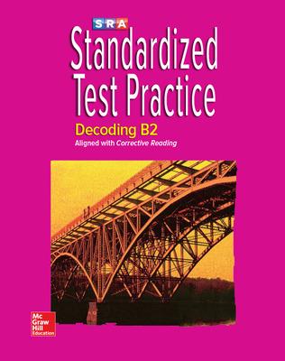 Corrective Reading Decoding Level B2, Standardized Test Prep Blackline Master