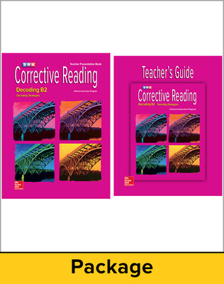 Corrective Reading Decoding Level B2, Teacher Materials Package