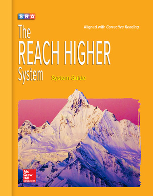 Corrective Reading, REACH Higher, System Guide