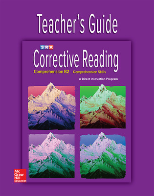Corrective Reading Comprehension Level B2, Teacher Guide