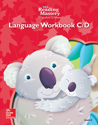 Reading Mastery Language Arts Strand Grade K, Workbook C & D