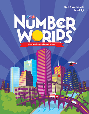 Number Worlds Level J, Student Workbook Data Analysis (5 Pack)