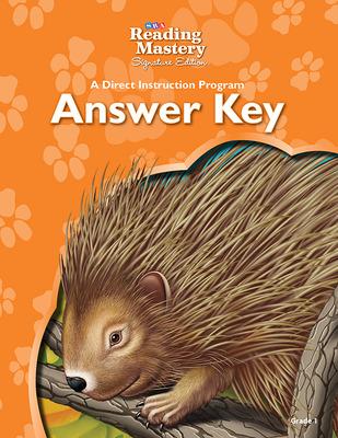 Reading Mastery Reading/Literature Strand Grade 1, Answer Key