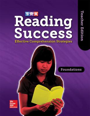 Reading Success Foundations, Teacher Edition