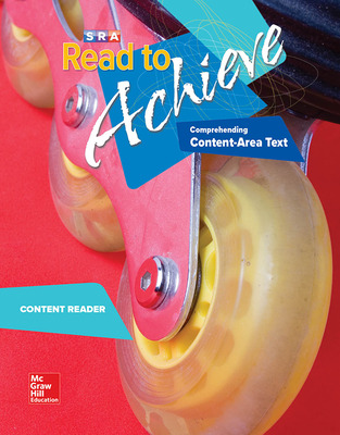 Read to Achieve: Comprehending Content Area Text, Content Reader