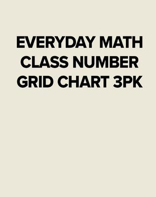 EM CLASS NUMBER GRID CHART 3PK