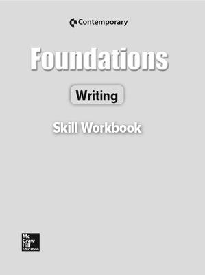 Foundations Writing Revised Ed, Skills Workbook