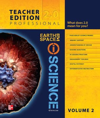 Glencoe Earth & Space iScience, Grade 6, Teacher Edition, Volume 2