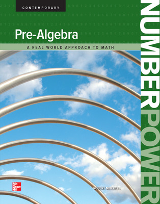 Number Power: Pre-Algebra, Student Edition