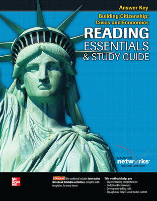 Building Citizenship: Civics and Economics, Reading Essentials and Study Guide, Answer Key