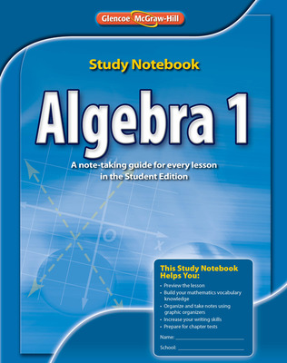Algebra 1, Study Notebook