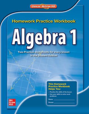 algebra 1 homework practice workbook / edition 1
