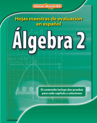 Algebra 2 Spanish Assessment Masters