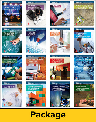 Career Companion: Career Clusters Package, Contains 1 of each Career Companion book