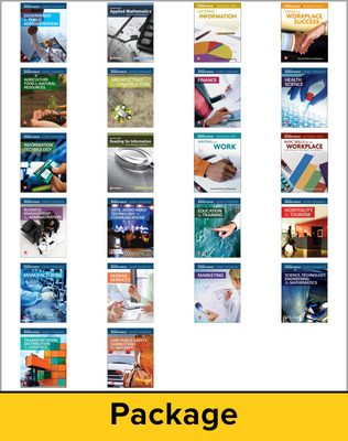 Career Companion, Complete Package, Contains 1 of each Career Companion book and 1 of each Workplace Skills book