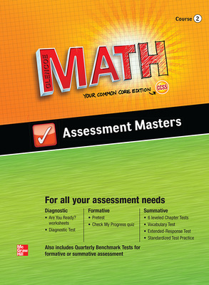 Glencoe Math, Course 2, Assessment Masters