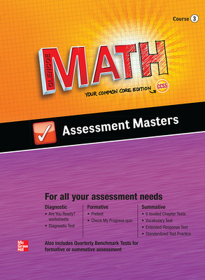 Glencoe Math, Course 3, Assessment Masters