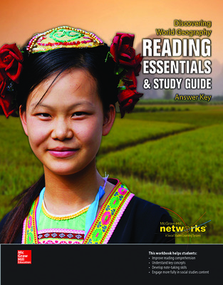Discovering World Geography, Reading Essentials and Study Guide, Answer Key