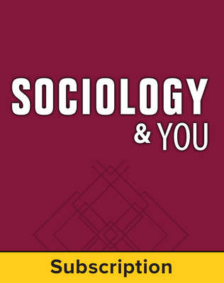 Sociology & You, Complete Classroom Set, Digital, 6-year subscription (set of 30)