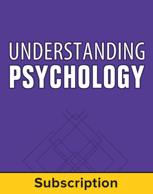 Understanding Psychology, Complete Classroom Set, Print & Digital, 6-year subscription (set of 30)