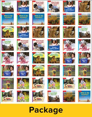 Inspire Science Grade K, Leveled Reader Class Set, 1 Each of 48 Books