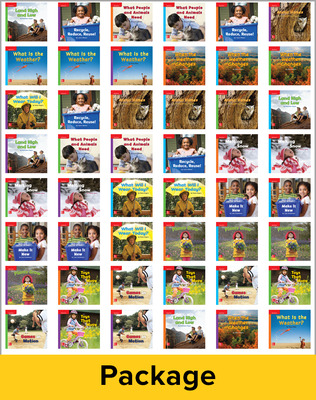 Inspire Science Grade K, Leveled Reader Library, 6 Each of 48 Books