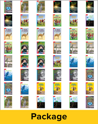 Inspire Science Grade 1, Leveled Reader Library, 6 Each of 48 Books