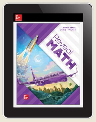 Reveal Math, Grade 5, Digital Student Center, 1-year