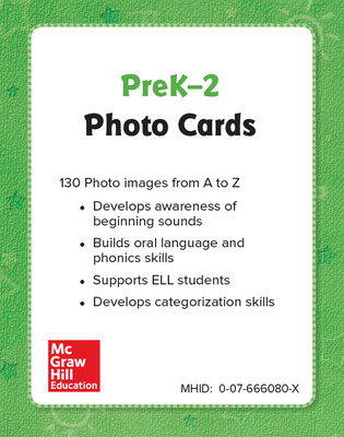 World of Wonders Grade Pre-K Photo Cards