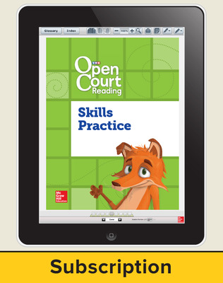 Open Court Reading Foundational Skills Kit Student License, 6-year subscription Grade 2