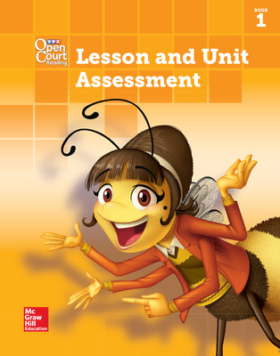 Open Court Reading Lesson and Unit Assessment, Book 1, Grade 1