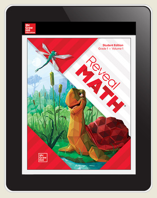 Reveal Math, Grade 1, Digital Student Center, 1-year