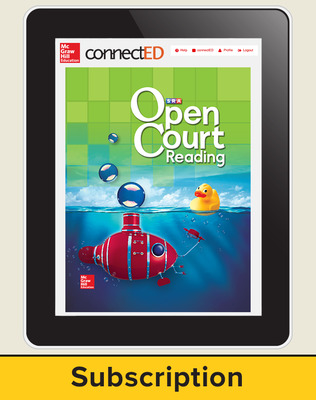 Open Court Reading Grade 2 Teacher License, 6-year subscription