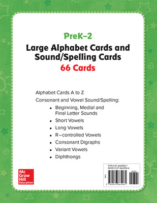 World of Wonders Grades K - 2 Large Alphabet Cards