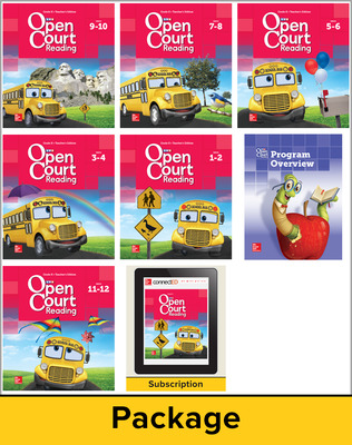 Open Court Reading Grade K Digital and Print Teacher Package, 6-year subscription
