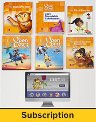 Open Court Reading Grade 1 Digital and Print Teacher Package, 6-year subscription