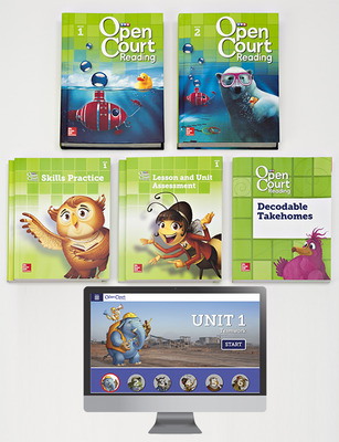 Open Court Reading Grade 2 Student Comprehensive Print Bundle with 6 Year Digital Subscription