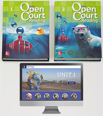 Open Court Reading Grade 2 Digital and Print Teacher Package, 6-year subscription