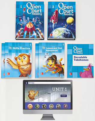 Open Court Reading Grade 3 Student Comprehensive Print Bundle with 6 Year Digital Subscription