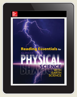 Physical Science with Earth Science, Student Embedded LearnSmart, 1-year subscription