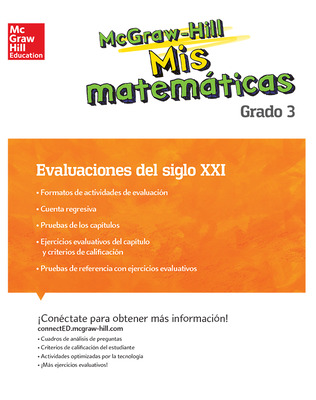 MH My Math 21st Century Assessment Grade 3 Spanish