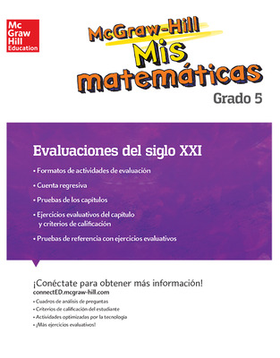 MH My Math 21st Century Assessment Grade 5 Spanish