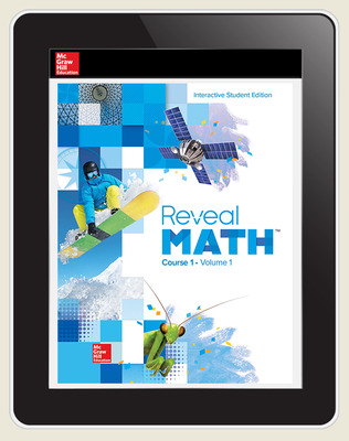 Reveal Math Course 1, Student Digital License, 1-year subscription