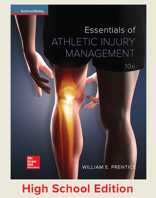 Essentials of Athletic Injury Management (Prentice) cover