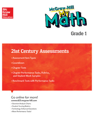 MH My Math 21st Century Assessment Grade 1