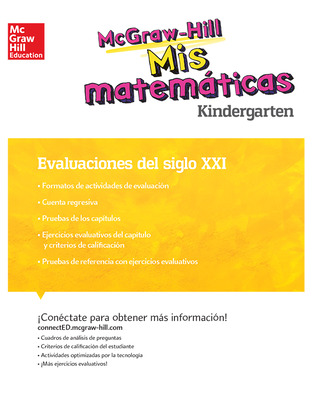 MH My Math 21st Century Assessment Grade K Spanish