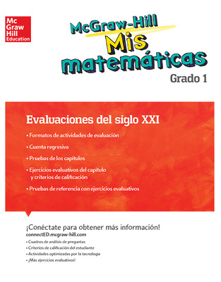 MH My Math 21st Century Assessment Grade 1 Spanish