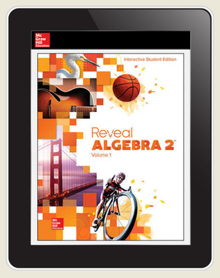 Reveal Algebra 2, Student Digital License, 1-year subscription